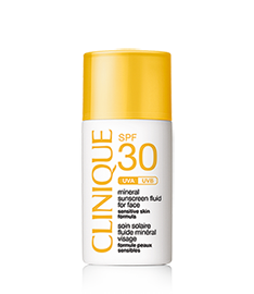 SPF 30 Mineral Sunscreen Fluid for Face
